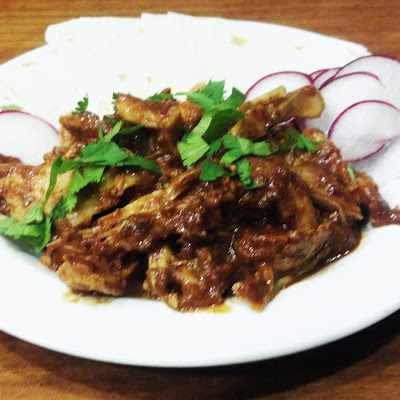 Pulled Chicken Mole