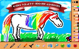 Screenshot of Doodle Club