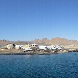 Red Sea shore, Safaga by Vasily Levitsky - Landscapes Deserts