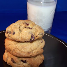 Cranberry, Bittersweet Chocolate Chip Cookies in a Jar Mix