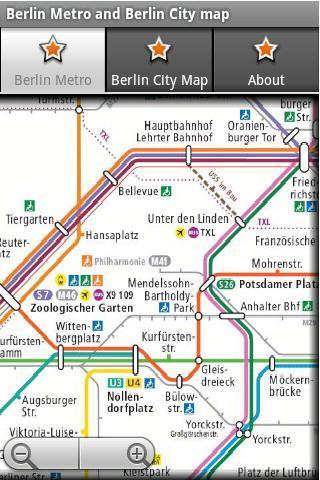 柏林地铁运行图 柏林地图