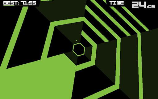 Super Hexagon - screenshot