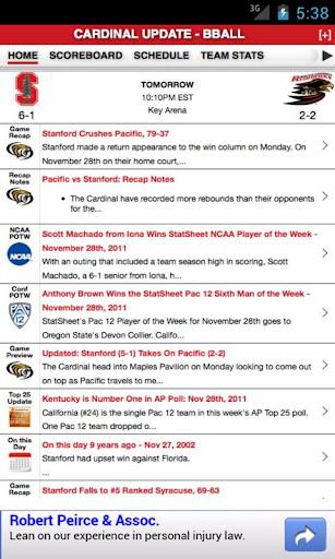 Stanford Football Basketball