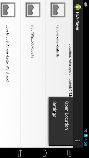 HEVPlayer - screenshot