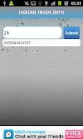 Screenshot of IRCTC MOBILE APP