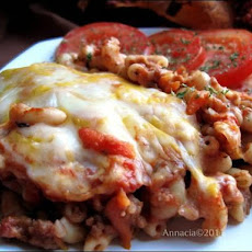 Ground Beef Pasta in the Oven (Firinda Kiymali Makarna)