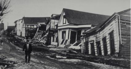 1960年智利9.5级地震海啸