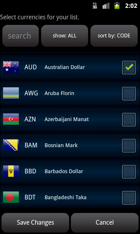 Easy Currency Converter Pro Screenshot 2