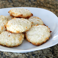 Chewy Double Coconut Cookies