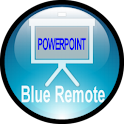 Blue Powerpoint Control icon