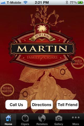 Pedro Martin Family Cigars