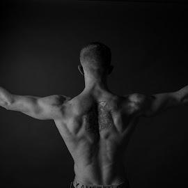 body builder by David Stanton - People Portraits of Men