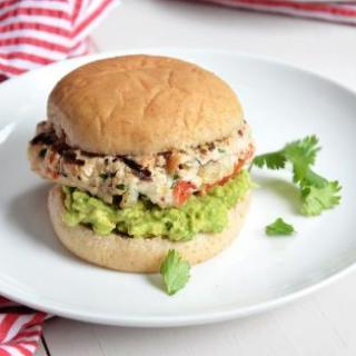 Avocado & Chile Lime Chicken Burger