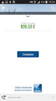 Screenshot of Cyberplus Crédit Maritime