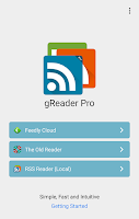 Screenshot of gReader Pro | News | RSS