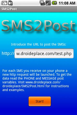 SMS2post