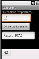 Screenshot of Celsius To Farenheit Dev