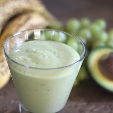 Apple Avocado Banana Grape Smoothie