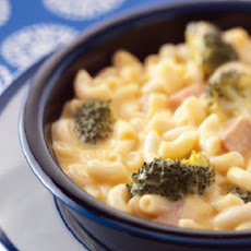 Macaroni  'n Cheese Soup