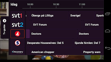 Screenshot of Telia Play+