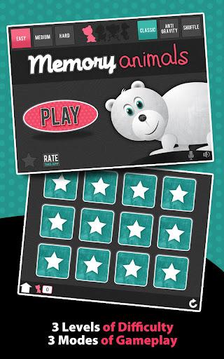 Memory Animals - Matching Game