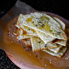 Crisp Flatbreads with Honey, Thyme and Sea Salt