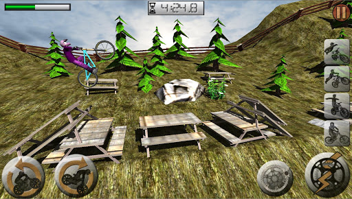 MTB Downhill challenges ProV - screenshot