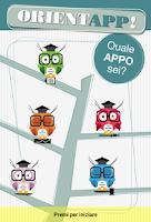 Screenshot of OrientApp! - Test orientamento