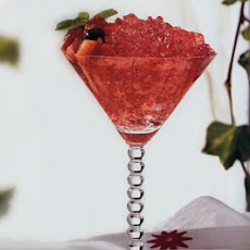 Watermelon-Berry Granita
