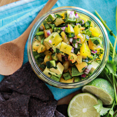 Avocado Peach Salsa