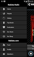 Screenshot of Rakista Radio!