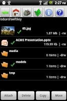 Screenshot of Open Manager (File Manager)