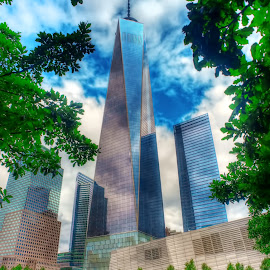 by Peter Chien - Buildings & Architecture Statues & Monuments ( national september 11 memorial )