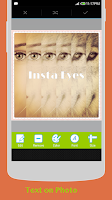 Screenshot of Insta Eyes with Collage