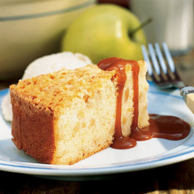 Apple-Almond Browned Butter Cake