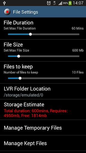 Looping Video Recorder - screenshot