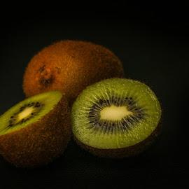 My Kiwi Sliced by Syahrul Nizam Abdullah - Food & Drink Fruits & Vegetables