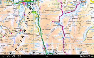 Screenshot of Outdoor Map Navigator