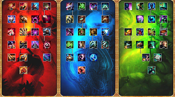 Screenshot of League of Legends Platform LOL