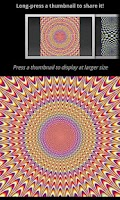 Screenshot of Living Optical Illusions