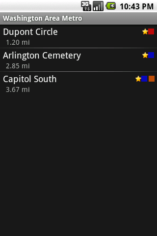 Washington Area Metrorail
