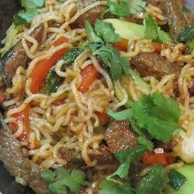 Spicy Beef And Vegetable Stir Fry