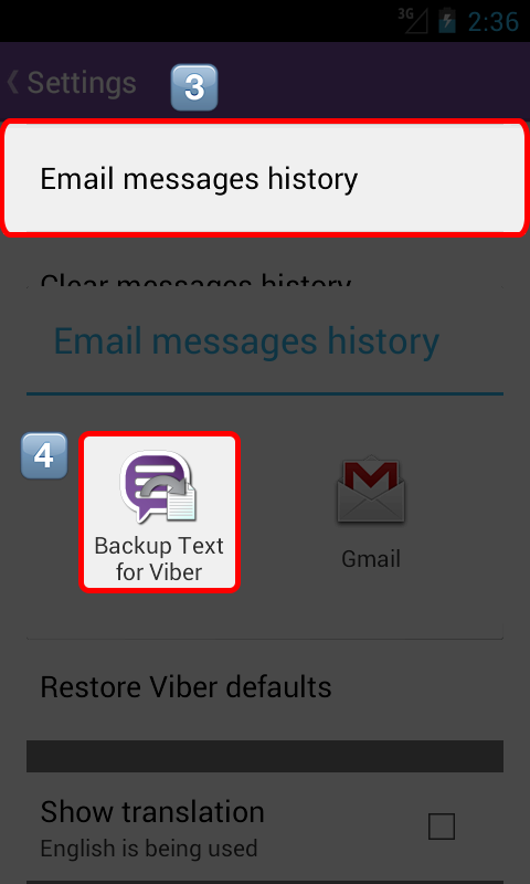 how to start a fresh line viber messsage