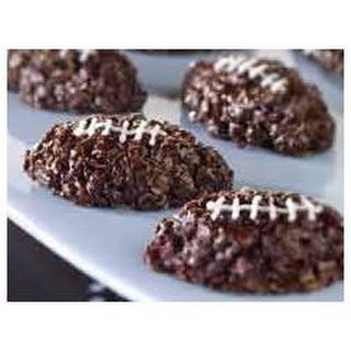 BAKER'S ONE BOWL Chocolatey Football Bites