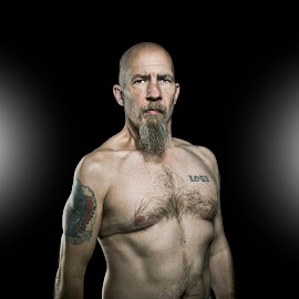 Him by Lou Gage - People Portraits of Men