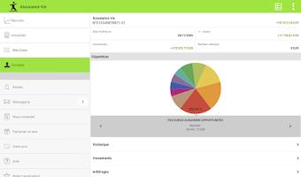 Screenshot of Fortuneo