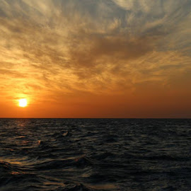 Sunset over Marathon by Connie Brewer - Landscapes Sunsets & Sunrises
