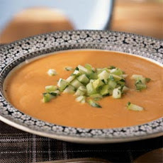 Red Lentil Mulligatawny with Apple-Celery Salsa