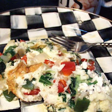 Ww Inspired Greek Infused Egg White Omelet