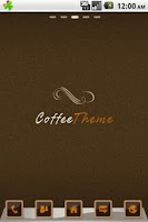 Screenshot of Coffee GO Launcher Theme